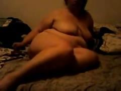 BBW Fucks Ass With Dildo
