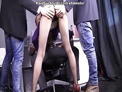 Hot hardcore sex as B-day present scene 2