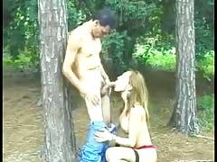 Blonde Brazilian Shemale Loving Big Cock