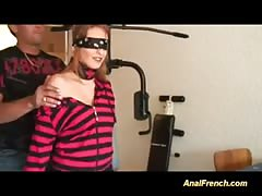 french Doll gets three dicks in holes