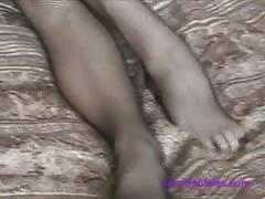Fishnet Foot Lick (Part 1)